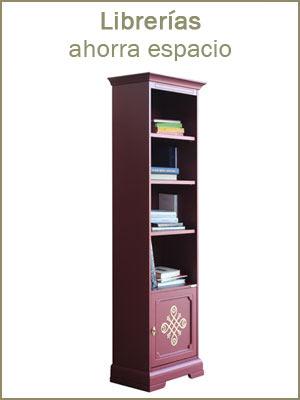 Librerías alta ahorra espacio, estantería para oficina, librería de madera