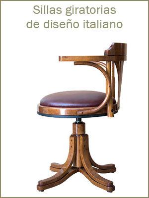 Sillas giratoria, sillas de madera para oficina, silla giratoria acolchada