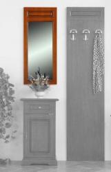 Espejo rectangular marco en madera