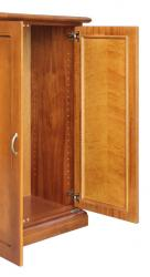 Zapatero de madera maxi, zapatero en madera, estante regulables, zapatero clásico, mueble de estilo clásico