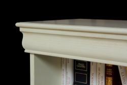 Arteferretto, librería baja, librería laqueada, estantería, librería clásica de salón