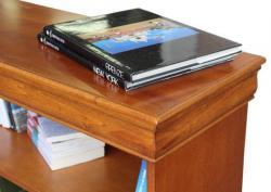Arteferretto, librería de madera, librería baja, librería clásica, estantería