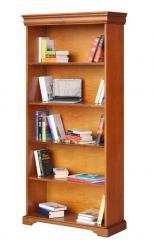 Librería estilo clásico estilo Luis Felipe en madera