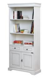 Librería alta, librería de madera, Arteferretto, mueble clásico, estantería