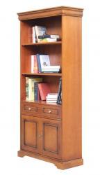 mueble librería, librería en madera, librería alta, mueble de oficina, librería de salón, mueble clásico, Arteferretto
