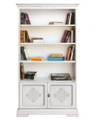 Librería alta, librería, estantería, mueble clásico, librería clásica, Arteferretto