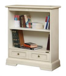 librería baja, mueble de madera, estantería, mueble por salón, Arteferretto, mueble de oficina, librería estile clásico