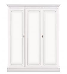 Armario modular laqueado blanco tres puertas