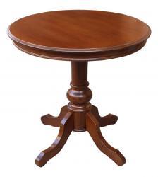 mesa redonda, mesa de comedor, mesa de madera, mesa de estilo clásico, Arteferretto