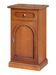 Mueble telefonera de madera por recibidor