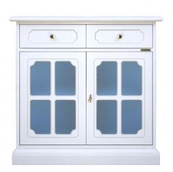 aparador blanco, mueble de comedor, mueble blanco de salón, aparador de madera, diseño italiano