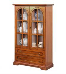 mueble vitrina, vitrina de estilo clásico, mueble vitrina, mueble de salón, mueble artesanal,mueble Arteferretto