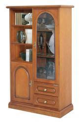 mueble vitrina, mueble artesanal, vitrina de madera, mueble de salón, mueble Arteferretto