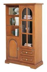 mueble vitrina multifuncional, vitrina de comedor, vitrina de salón, muebles de Arteferretto, mueble de estilo clásico, mueble funcional