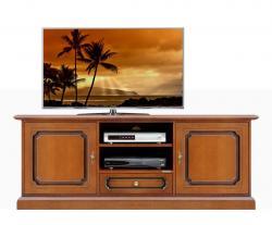 Mueble tv estilo clásico en madera artisaneria italiana