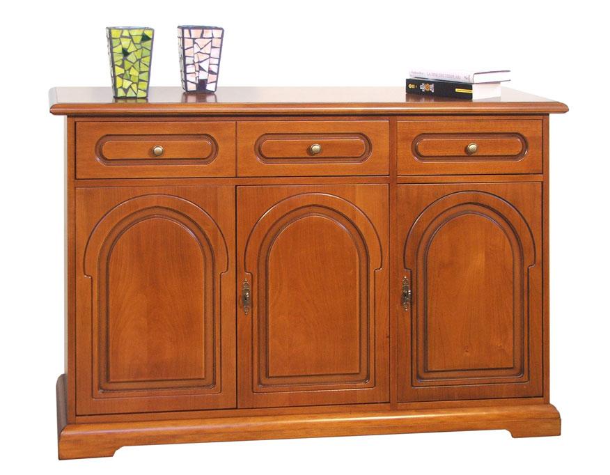 Mueble aparador de madera para sal n estilo cl sico - Mueble aparador salon ...