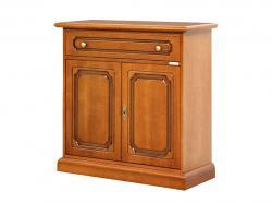 Aparador en madera 2 puertas diseñadas