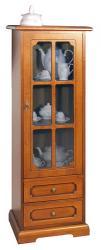 mueble vitrina, vitrina de madera, vitrina cuarto de estar, vitrina clásica, mueble Arteferretto