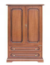 armario de madera en estilo clásico, mueble de madera, mueble multiuso, armario, Arteferretto