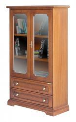 mueble vitrina, vitrina de salón, vitrina estilo clásico, mueble de madera, , mueble de Arteferretto