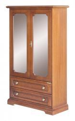 vitrina clásica de salón, mueble vitrina, mueble de salón, mueble Arteferretto, vitrina con puertas