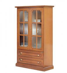 vitrina, mueble de salón, vitrina de madera