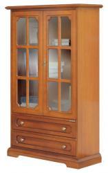 vitrina para salón, mueble vitrina, mueble de Arteferretto, mueble de madera, vitrina de comedor