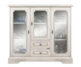 vitrina aparador, mueble de comedor, mueble Arteferretto, vitrina de madera, vitrina de salón, mueble de almacenaje, mueble artesanal