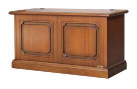 caja de almacenaje de madera, caja de madera, caja rebatible, mueble de entrada, Arteferretto
