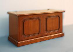 caja de almacenaje, cofre de madera, caja rebatible, mueble de madera, mueble de almacenaje, Arteferretto