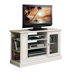 mueble de tv estilo clásico, mueble de madera, mueble tv, Arteferretto, mueble con vitrina, mueble con estantes