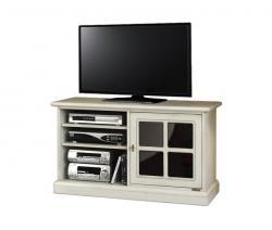Mueble tv aparador vitrina reflex y vanos laterales