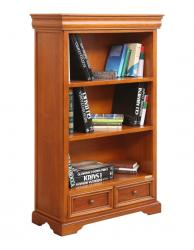 librería de madera, mueble de madera, estantería, mueble de salón, librería baja de despacho, Arteferretto