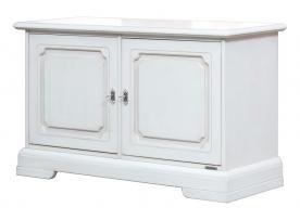 mueble aparador bajo, mueble blanco, aparador de comedor