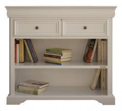 Arteferretto librería baja, mueble de madera, librería de madera, estantería,