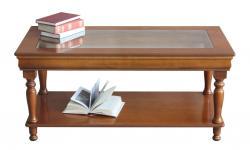 Mesa de centro, mesa de madera, mesa de centro rectangular