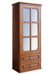 mueble vitrina, vitrina clásica de pared, vitrina ahorra espacio,, vitrina de madera, vitrina con cajones, Arteferretto