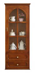 mueble vitrina de pared, mueble vitrina, vitrina clásica, mueble Arteferretto, mueble de cocina, vitrina colgante