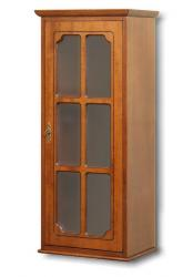 vitrina de pared, vitrina de madera, vitrina para colgar, vitrina 1 puerta de vidrio, mueble de cocina, vitrina por la cocina, Arteferretto