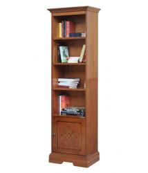 Arteferretto, librería alta, librería de madera, mueble de oficina, mueble de salón, cuarto de estar, estantería