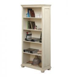 librería lacada, estantería blanca, estantería clásica, mueble clásico, mueble de salón, Arteferretto