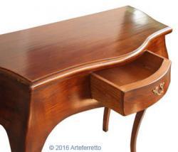 mesa consola clásica, mesa consola, consola de recibidor, mueble de recibidor, consola clásica, Arteferretto