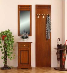 Muebles de entrada telefonera, perchero, espejo