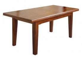 Mesa rectangular, mesa extensible, mesa de comedor, mesa de salón, mesa de madera, mesa rectangular de estilo, mesa de estilo clásico