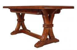 mesa rectangular, mesa de madera, mesa de comedor, mesa extensible, mesa de comedor extensible, mesa de estilo clásico, mesa de comedor de madera, mueble de comedor