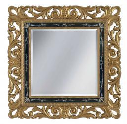 Espejo pan de oro marco en madera maciza