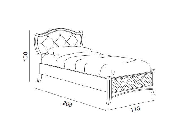 Cama individual con cabecera acolchada prixdoo - Comprar cama individual ...