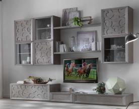 Muebles modulares de pared