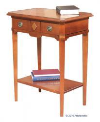 consola mesa auxiliar en madera maciza, consola de recibidor