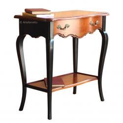 consola, mesa de recibidor, consola de madera maciza, mesa consola, consola estilo clásico, consola de madera